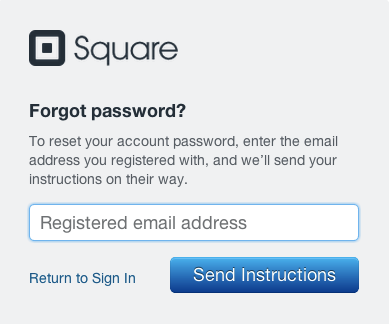 how to change password if you forgat